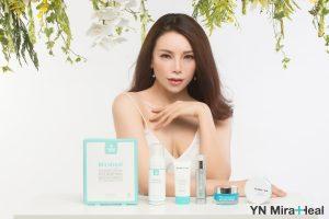 Á Hậu Trà Ngọc Hằng và mỹ phẩm YN Medical Cosmetics