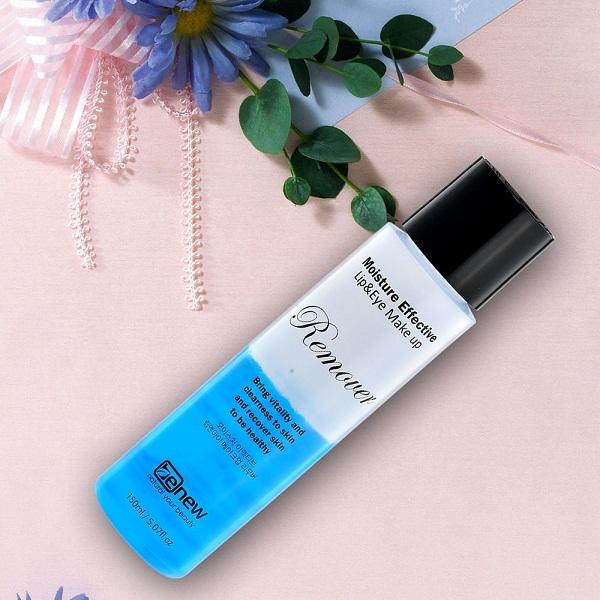 Nước tẩy trang Benew Moisture Effective lip & Eye make remove