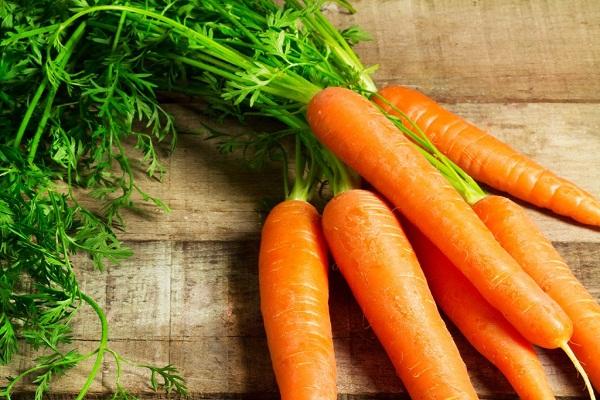 Cà rốt rất tốt trong việc tăng sinh collagen