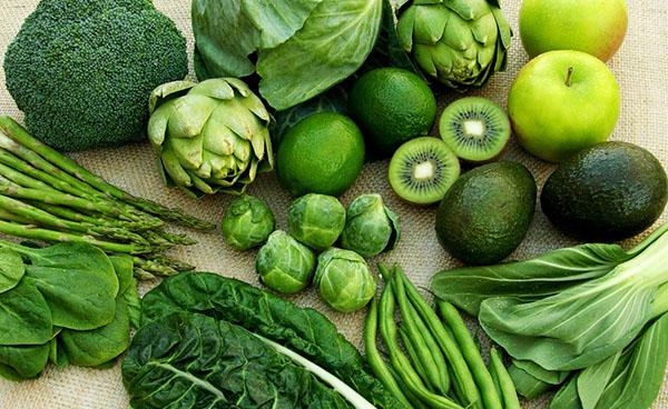 Tất cả các loại rau có màu xanh đậm đều giúp da sản sinh collagen