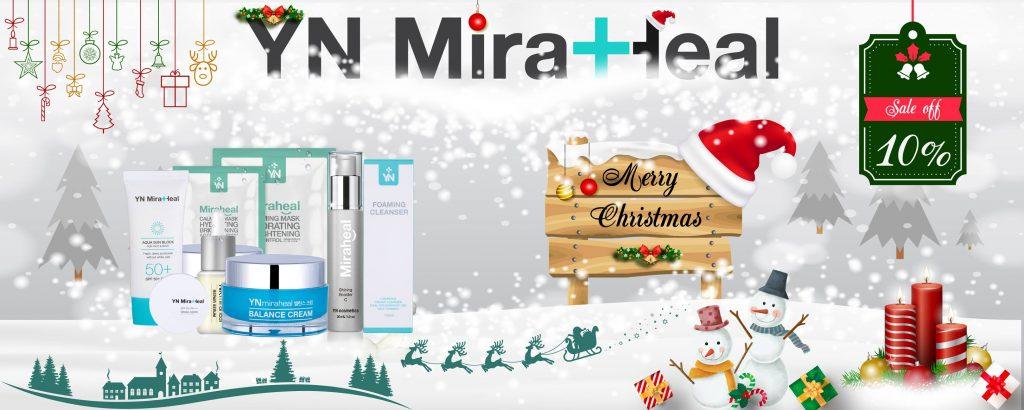 Nhân dịp giáng sinh sắp tới, YN Medicial Cosmetics tri ân khách hàng: giảm giá 10% tất cả sản phẩm