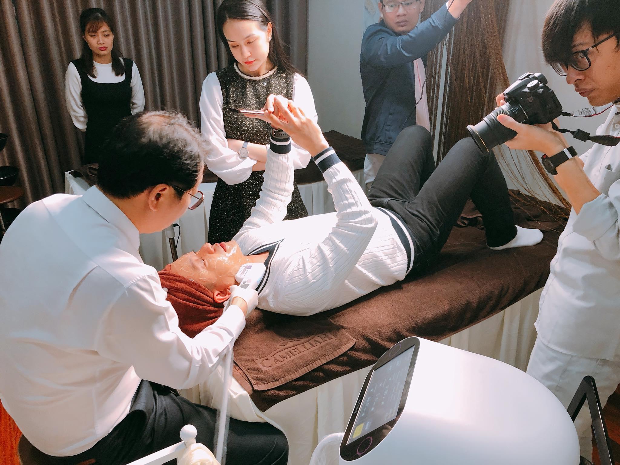 Công nghệ nâng cơ da mặt Hifu sử dụng máy làm căng da mặt UTIMS