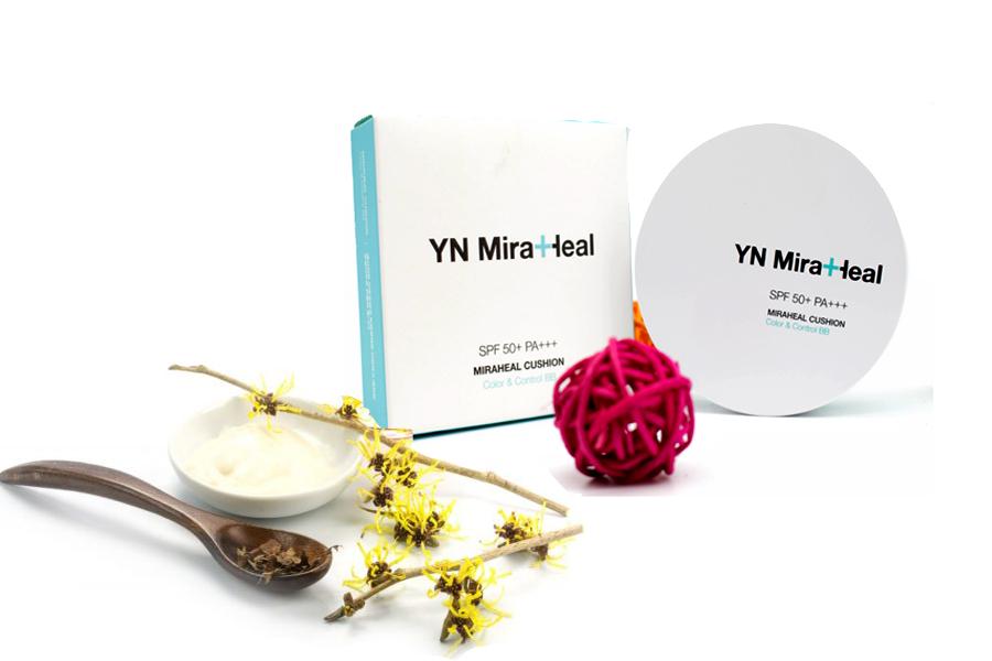 YN Miraheal Cushion – Phấn nước trang điểm chiết xuất 100% từ thiên nhiên, phù hợp với những làn da nhạy cảm nhất