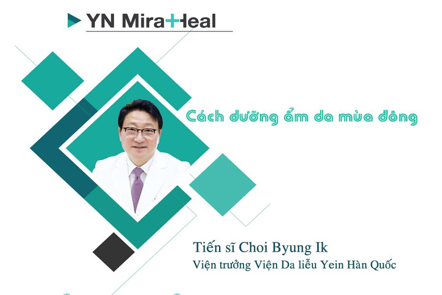 Tiến sĩ Choi Byung Ik đã có buổi chia sẻ về cách dưỡng ẩm da màu đông với YN Meidcal Cosmetics