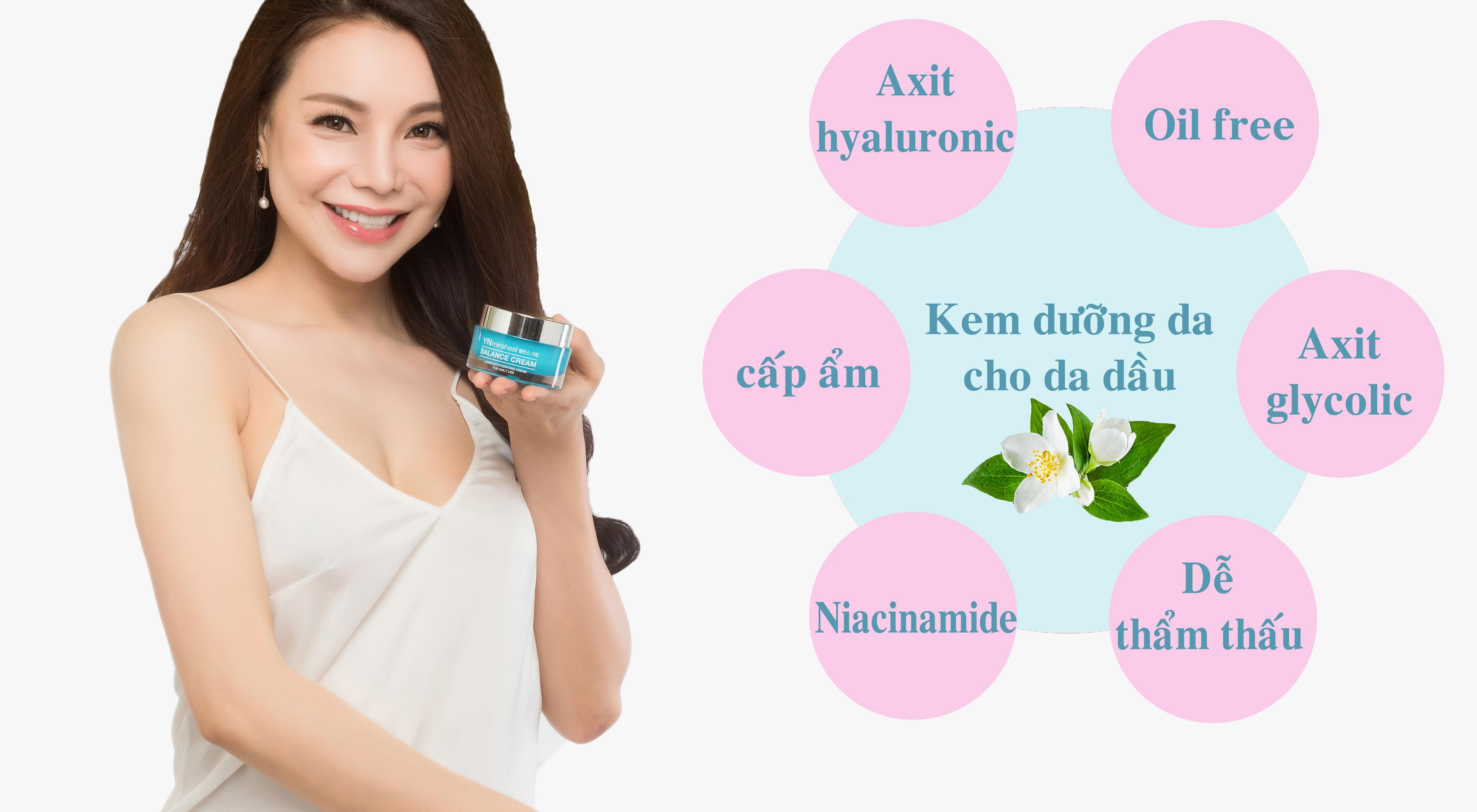 Cách lựa chọn kem dưỡng da cho da dầu