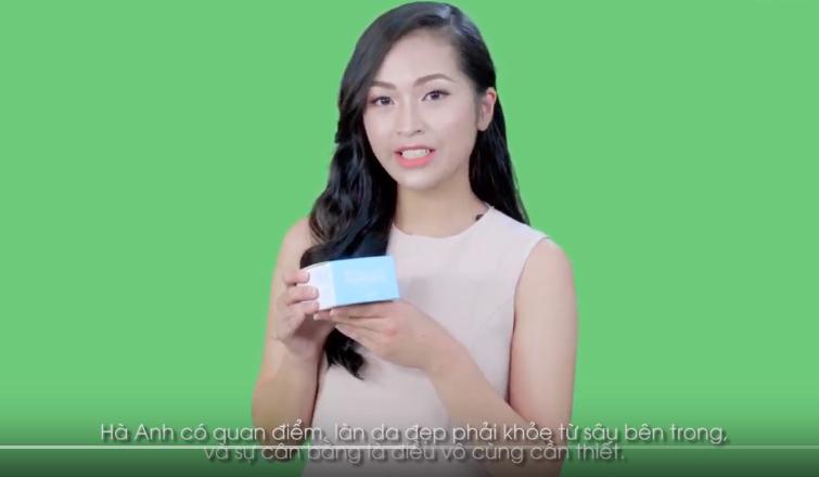 Siêu mẫu Hà Anh đã có buổi chia sẻ sau trải nghiệm dùng thử kem dưỡng da YN Miraheal