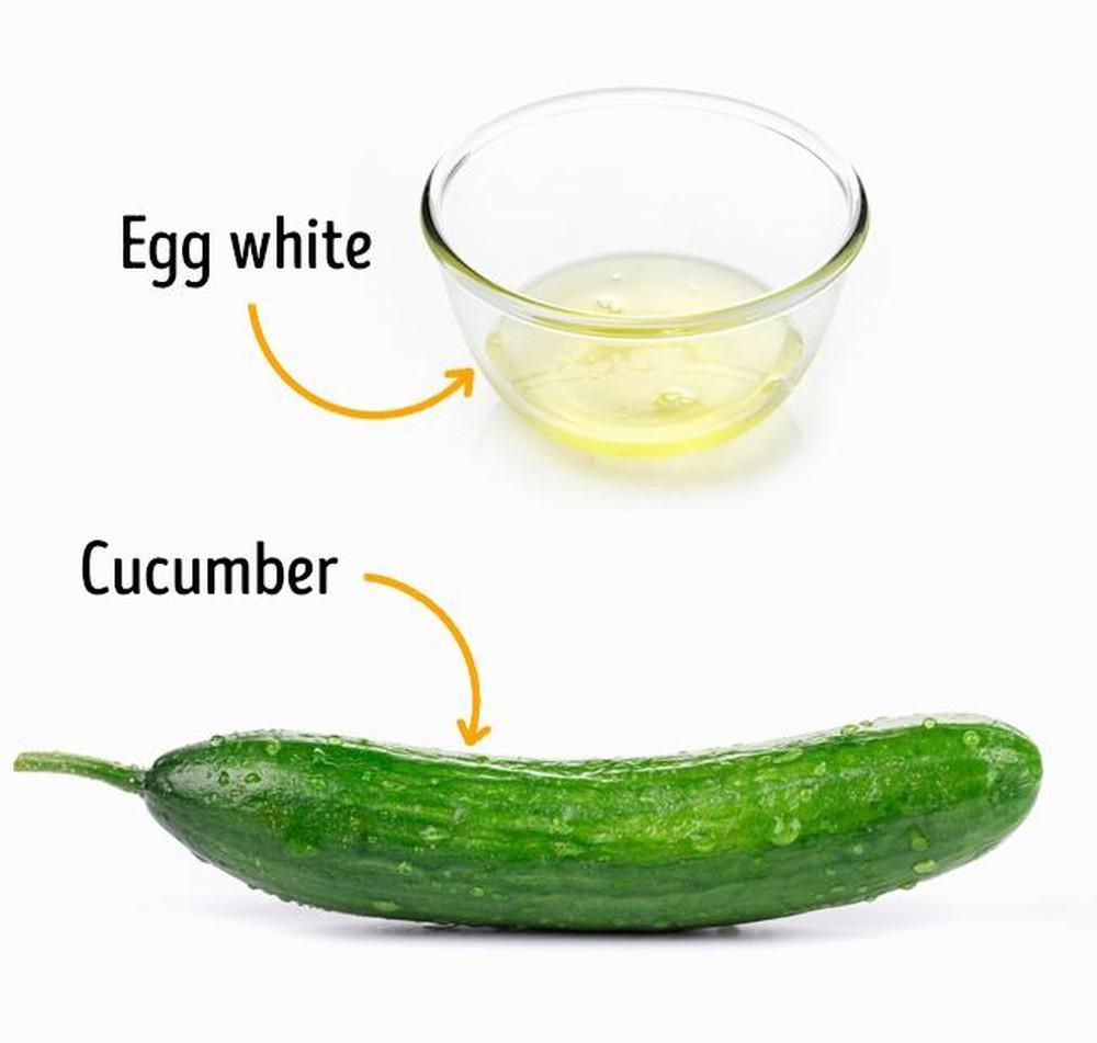 Mặt nạ trứng gà dưa leo dưỡng ẩm cho da nhờn hiệu quả