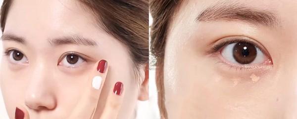 Sử dụng thêm kem che khuyết điểm để cho nền da đều màu