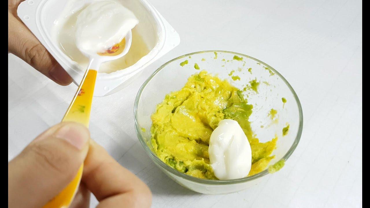 Mặt nạ dưỡng ẩm từ bơ và sữa chua