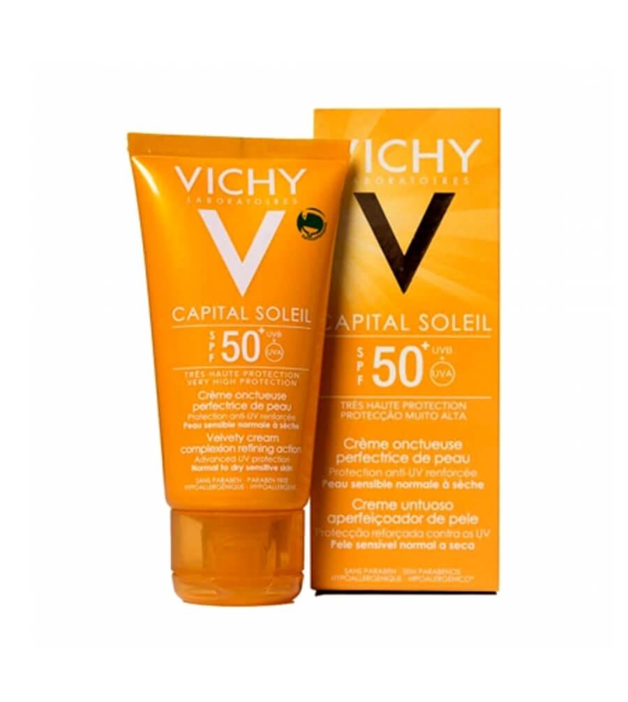 Kem chống nắng Vichy sử dụng mùi hương liệu khá nồng