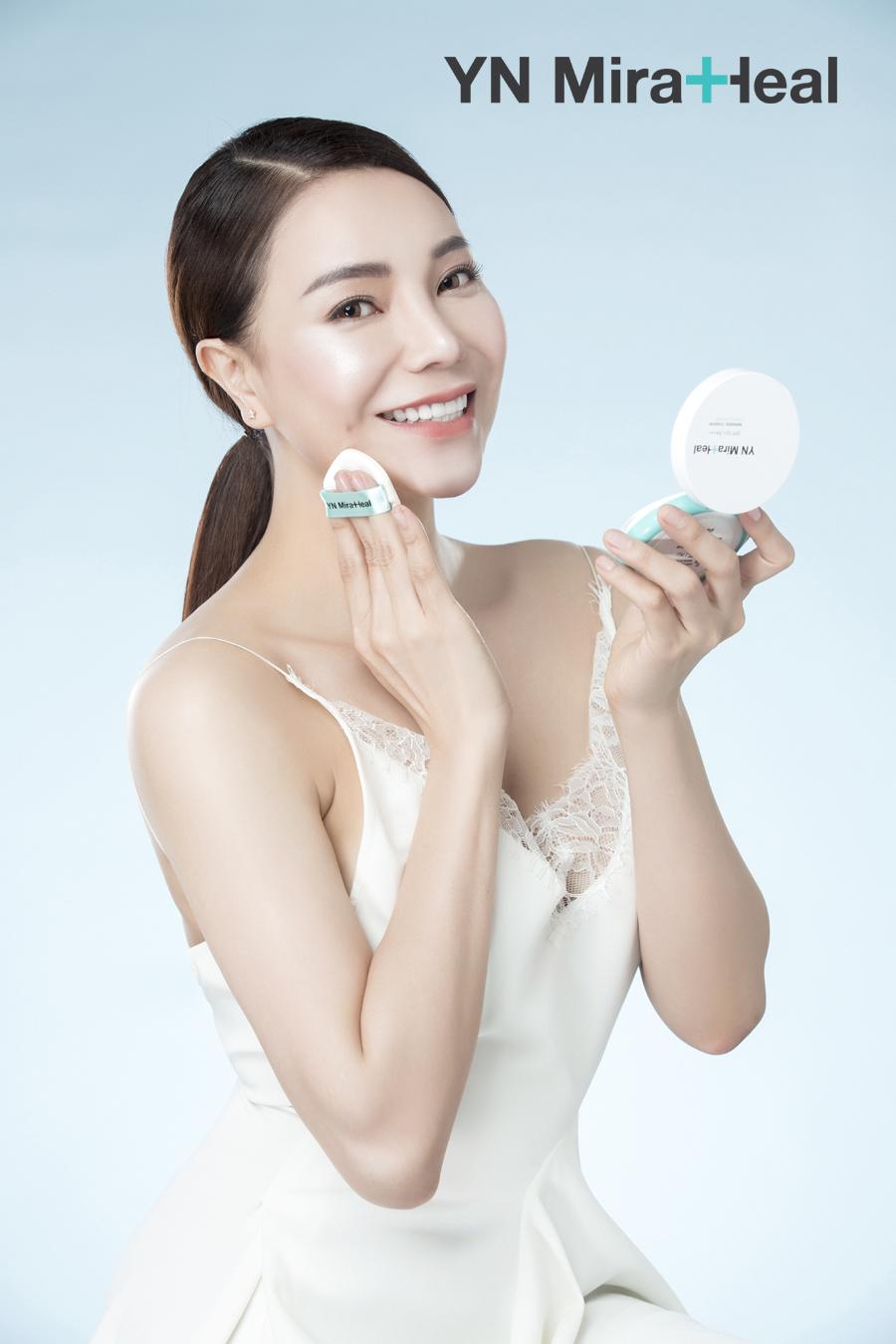 Cushion cho da nhạy cảm tốt nhất YN Miraheal Cushion - phấn nước dược mỹ phẩm Hàn Quốc