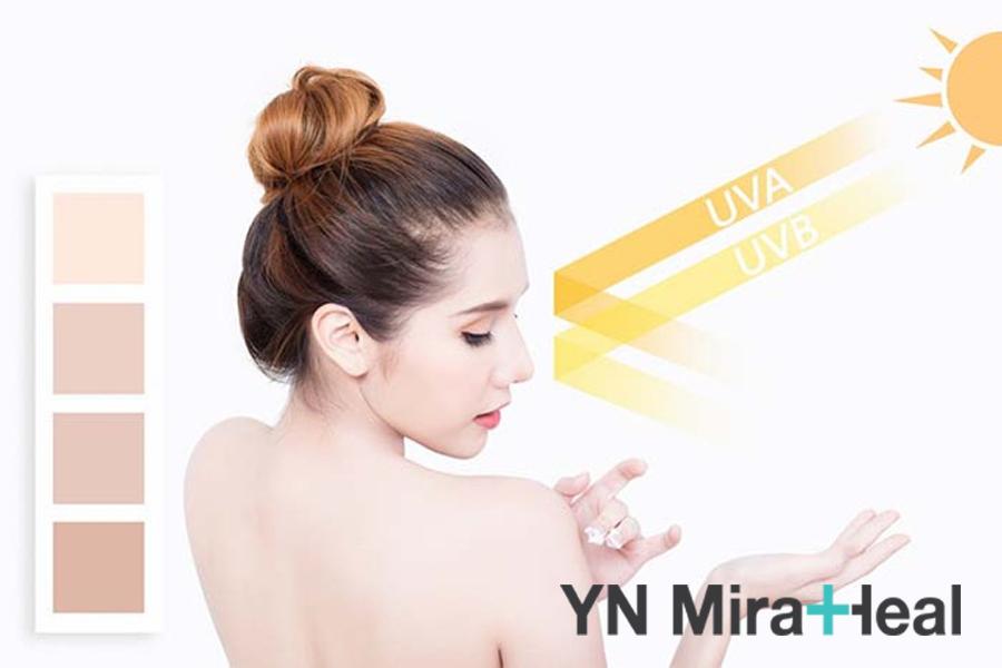 Dùng kem chống nắng phù hợp với tính chất từng loại da, màu da