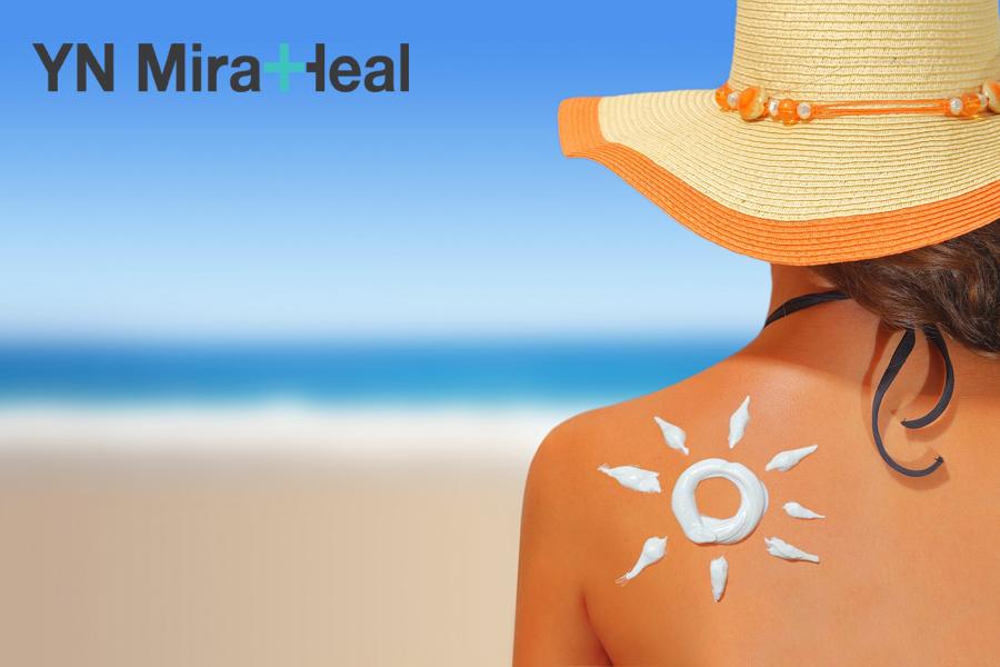 Kem chống nắng đi biển cần có khả năng chống nước cao