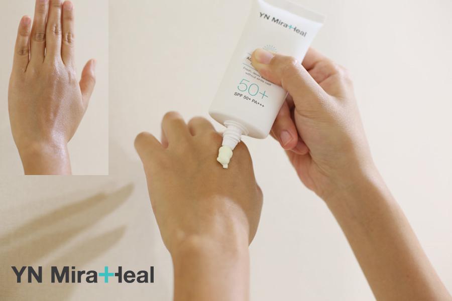 Kem chống nắng cho da khô dạng kem, không bật tone da là phù hợp nhất