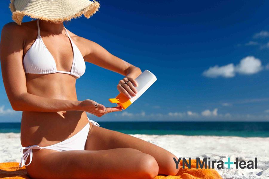 Kem chống nắng đi biển có độ bền cao và kháng nước tốt hơn