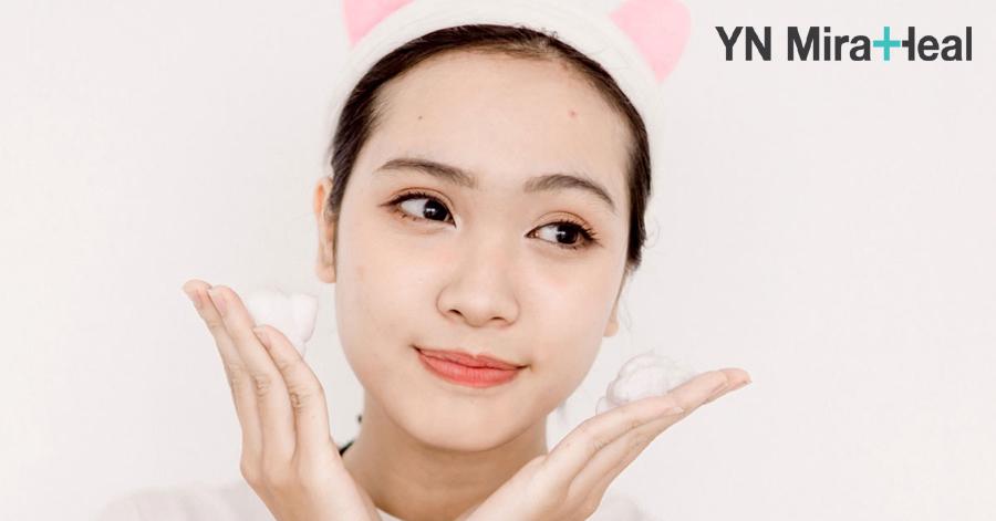 Tránh chà xát quá mạnh khi massage cho da mặt