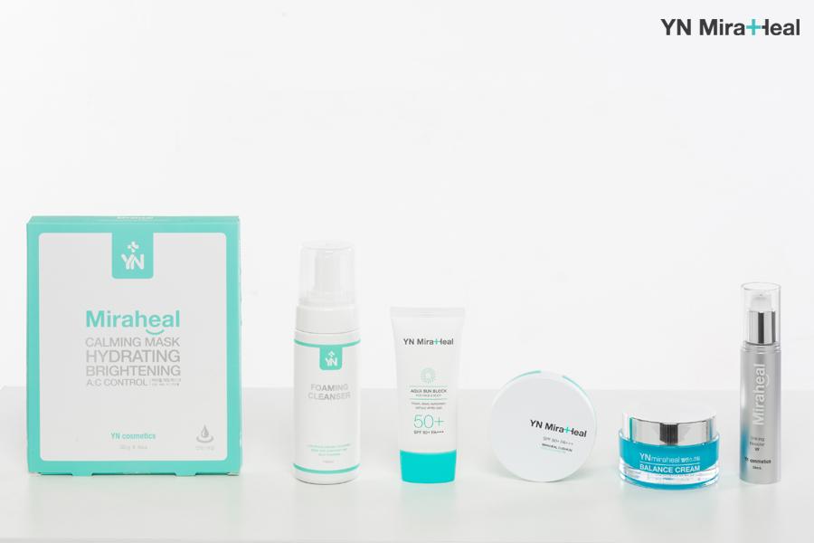 Các sản phẩm của YN Miraheal chuyên dành cho làn da nhạy cảm
