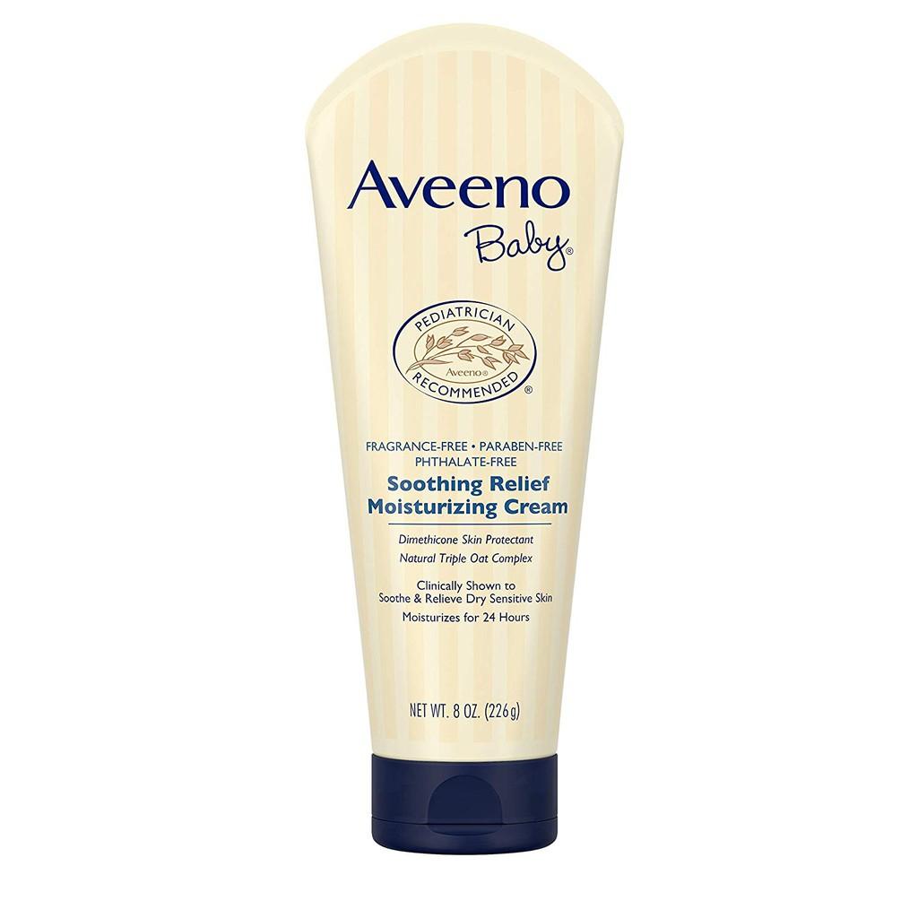 Kem dưỡng ẩm toàn thân cho bé Aveeno BabySoothing Relief Moisture
