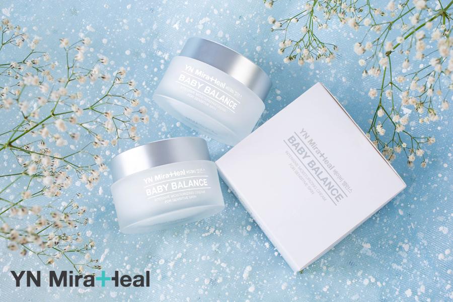 Kem dưỡng ẩm cho bé tốt nhất Hàn Quốc YN Miraheal Baby Balance Cream