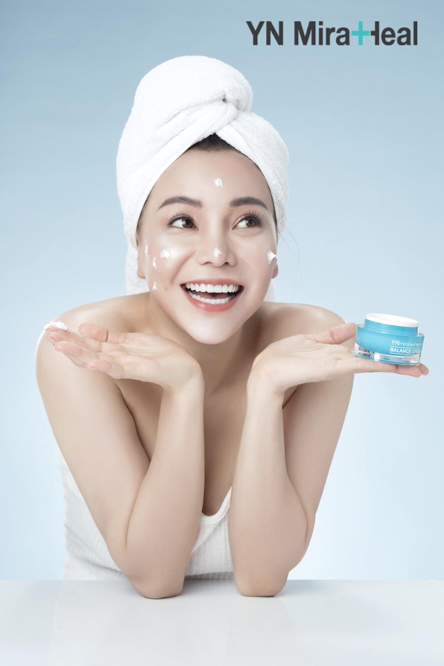 Liều lượng thoa kem dưỡng ẩm mùa đông điều chỉnh phù hợp với từng loại da