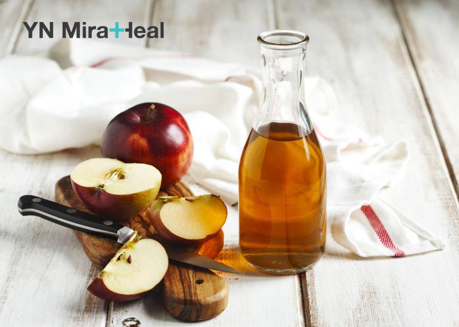 Mặt nạ cho da dầu từ giấm táo giúp làm sạch bã nhờn trong lỗ chân lông hiệu quả