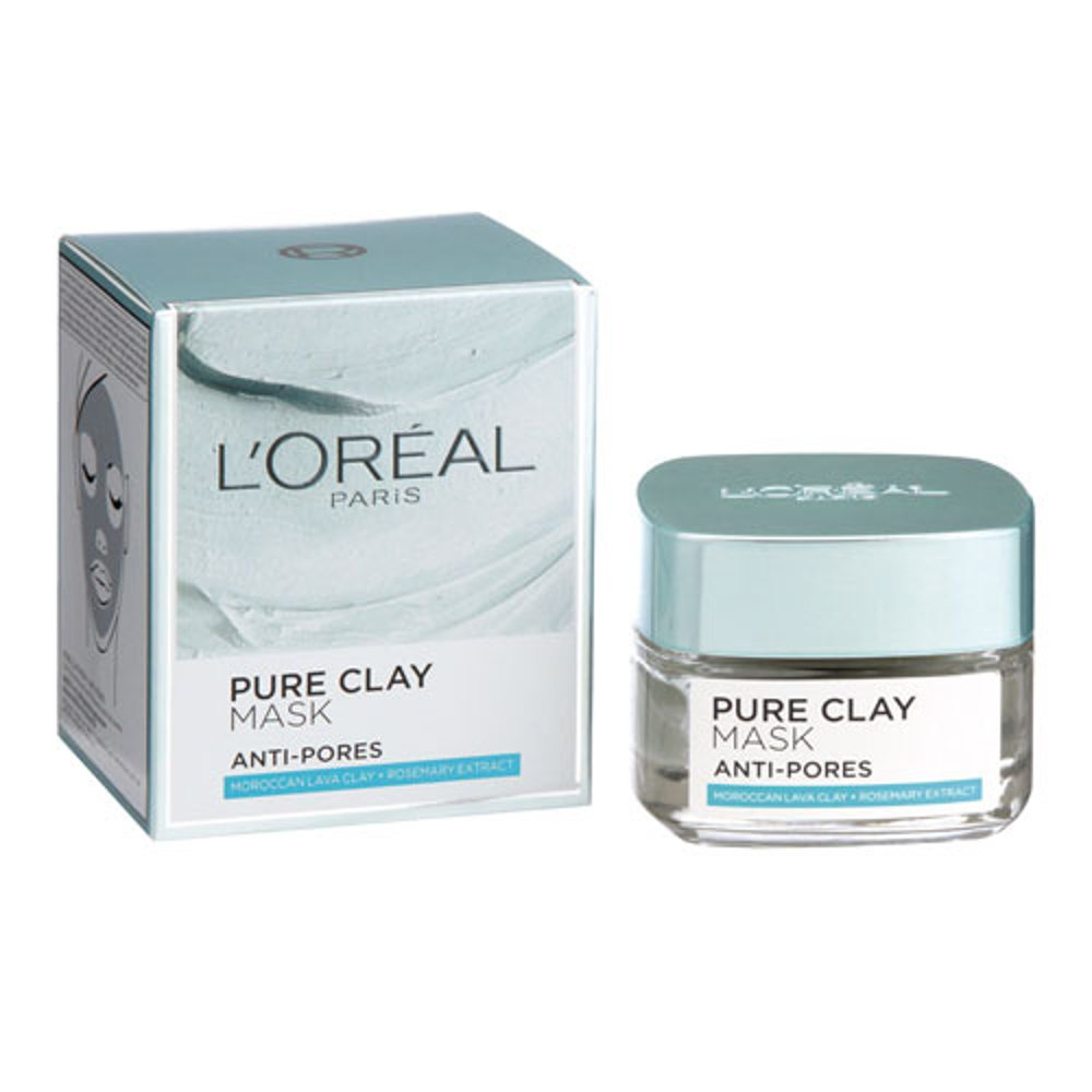 Mặt nạ dưỡng ẩm L'oreal Paris Pure Clay Mask Anti Pores