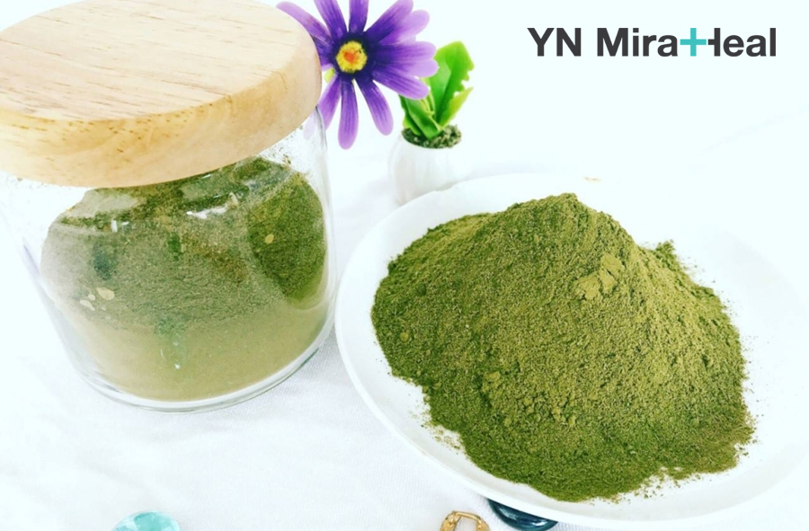 Mặt nạ cho da nhạy cảm từ bột trà xanh giúp kháng viêm, làm dịu vết kích ứng hiệu quả