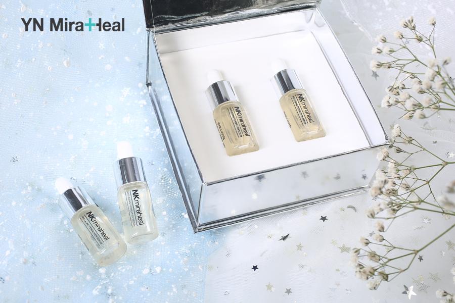 Sử dụng serum cho da dầu YN Miraheal an toàn với làn da, hiệu quả kiềm dầu và ngăn ngừa lão hóa hiệu quả